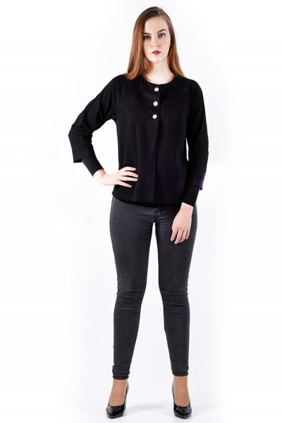 Жакет мод. 1102 цвет Черный