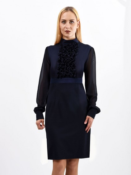 Платье мод. 1415 цвет Синий