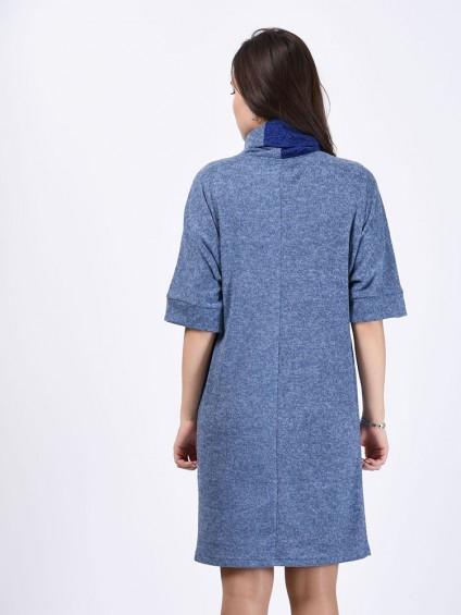Платье мод. 1445-1 цвет Голубой
