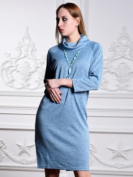 Платье мод. 1446-5 цвет Голубой