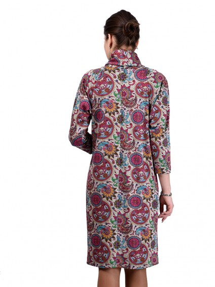 Платье мод. 1446-5 цвет Розовый