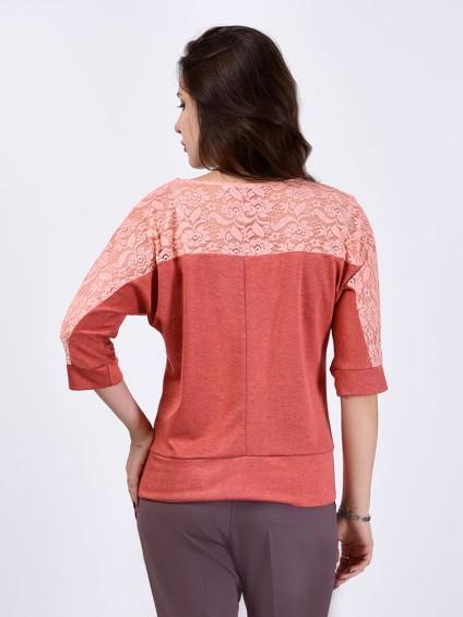 Блуза мод. 1447-1 цвет Персиковый