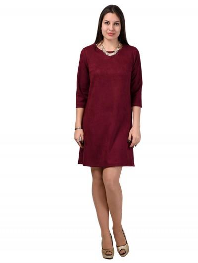 Платье мод. 1454 цвет Бордовый