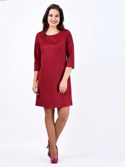 Платье мод. 1454 цвет Вишневый