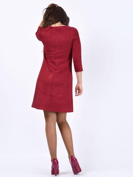 Платье мод. 1454 цвет Вишня