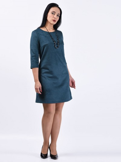 Платье мод. 1454 цвет Изумрудный
