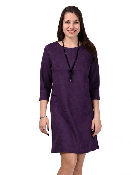 Платье мод. 1454 цвет Фиолетовый