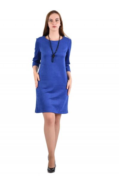 Платье мод. 1454 цвет Василек