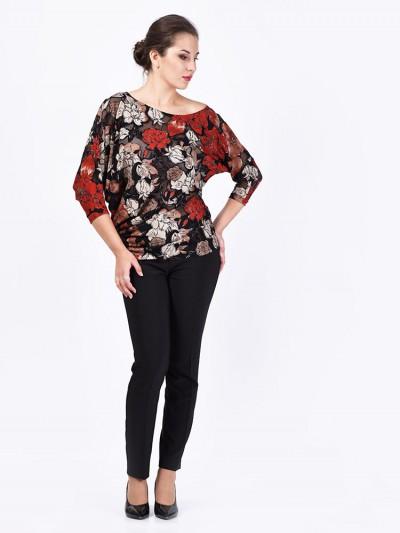 Блуза мод. 1457-2 цвет Красный