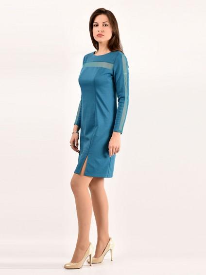 Платье мод. 1460 цвет Бирюзовый