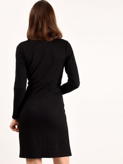 интернет магазин женской одежды,Платье мод. 1460 Чёрный цвет,женская одежда оптом и в розницу