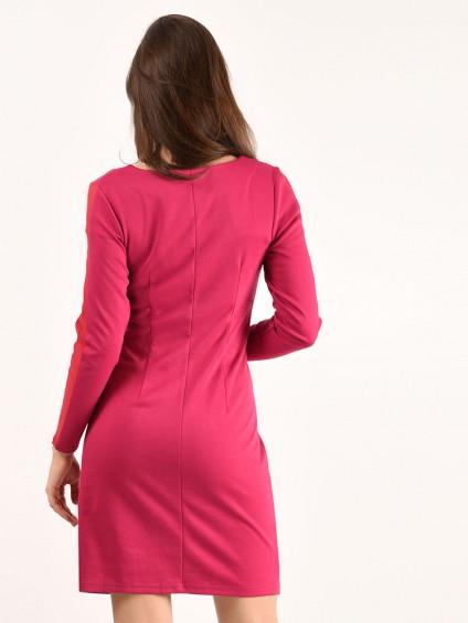 Платье мод. 1460 цвет Фуксия