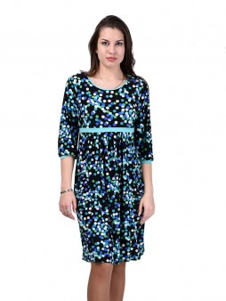 Платье мод. 1463-4 цвет Бирюза
