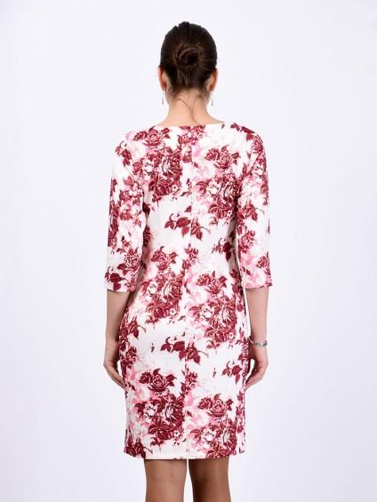 Платье мод. 1482-3 цвет Бордовый