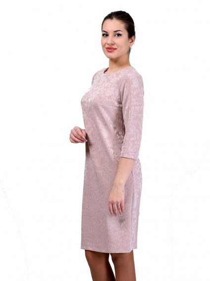 Платье мод. 1482-3 цвет Розовый