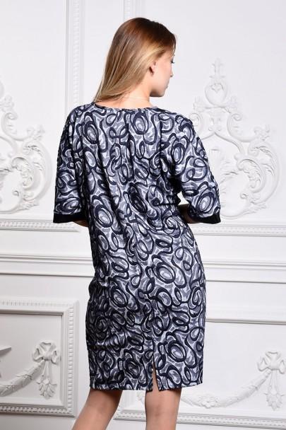 Платье мод. 1488-1 цвет Синий