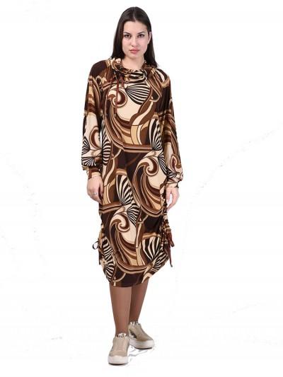 Платье мод. 1499 цвет Коричневый