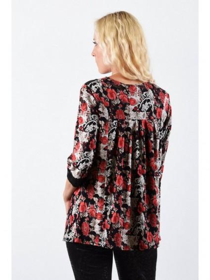 Туника мод. 1502 цвет Черный