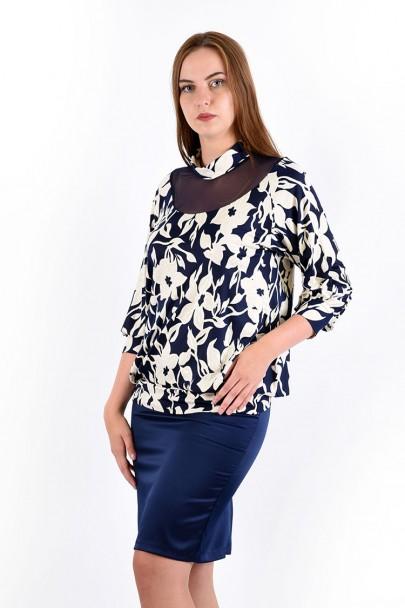 Блуза мод. 1506 цвет Молочный