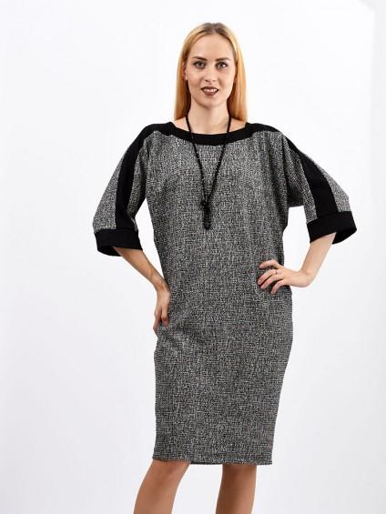 Платье мод. 1523-1 цвет Серый