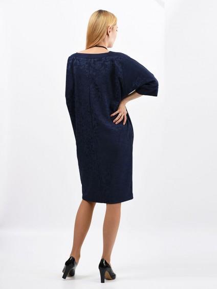 Платье мод. 1523-1 цвет Синий