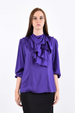 Блуза мод. 1524 цвет Фиолетовый