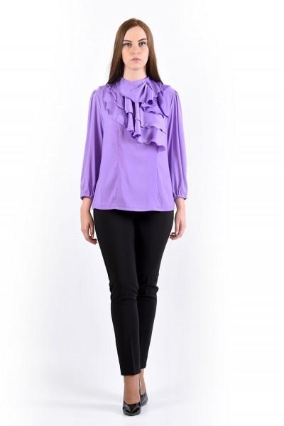 Блуза мод. 1524 цвет Сиреневый