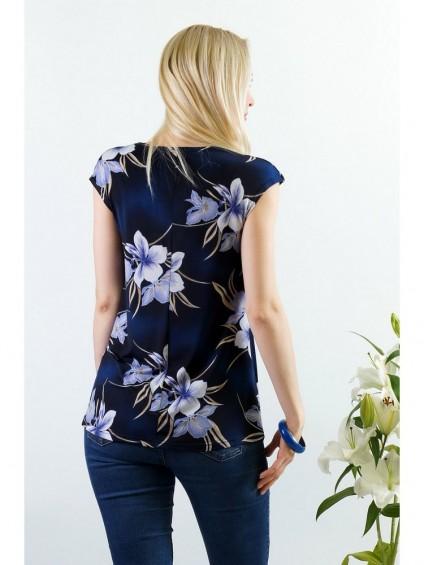 Блуза мод. 1535 цвет Фиолетовый