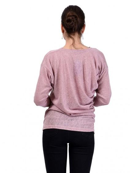 Блуза мод. 1538 цвет Розовый