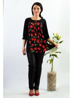 Туника мод. 1544-2 цвет Вишневый