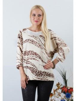 Блуза мод. 1546-1 цвет Молоко