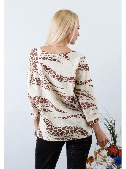 Блуза мод. 1546-1 цвет Молочный
