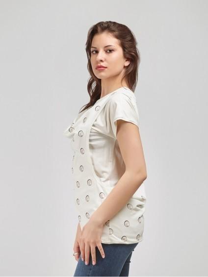 Блуза мод. 1549 цвет Молоко