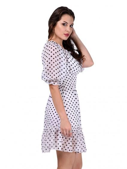 Платье мод. 1564-1 цвет Белый