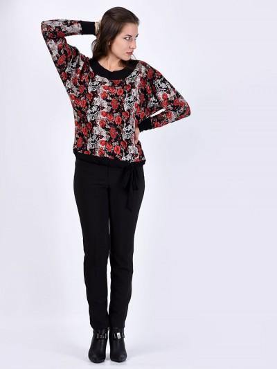 Блуза мод. 1566 цвет Красный
