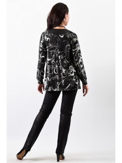 Блуза мод. 1571 цвет Черный