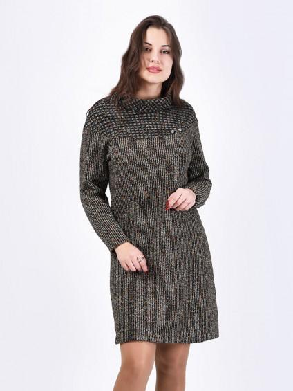Платье мод. 1572-1 цвет Серый