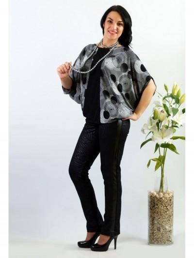Блуза мод. 1573 цвет Черный