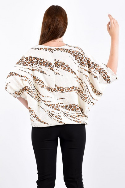 Блуза мод. 1573 цвет Белый