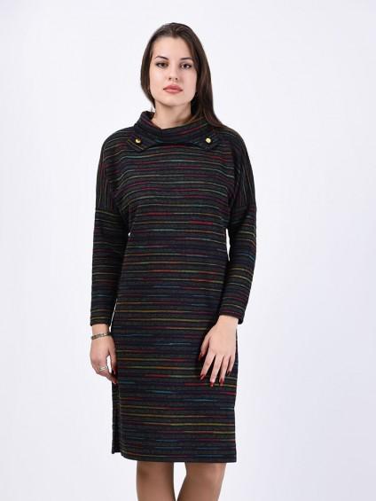 Платье мод. 1574-1 цвет Радуга
