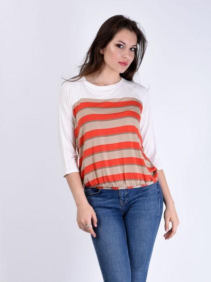 Блуза мод. 1605-1 цвет Персик