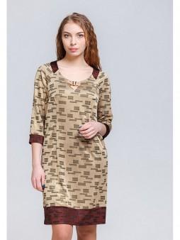 Платье мод. 1640 цвет Золотой
