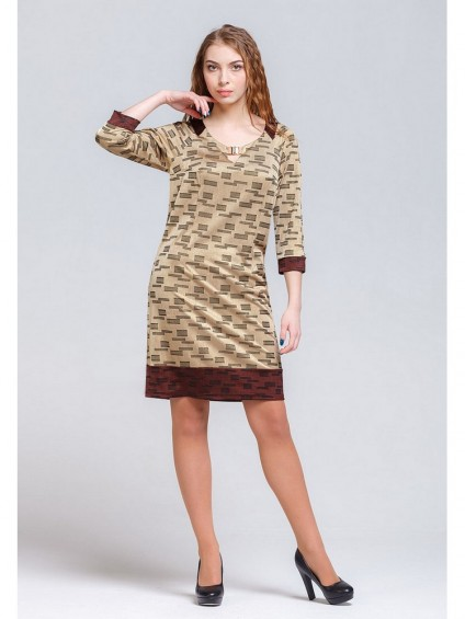 интернет магазин женской одежды,Платье мод. 1640 Золото цвет,женская одежда оптом и в розницу