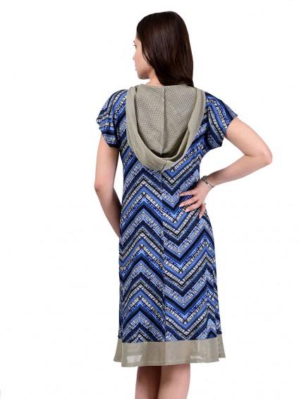 Платье мод. 1651 цвет Синий