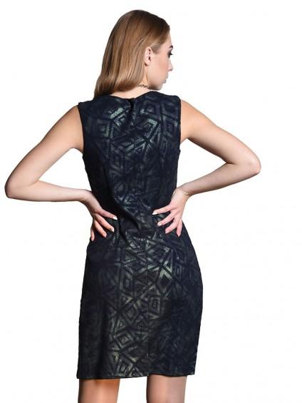 Платье мод. 1658-1 цвет Зеленый