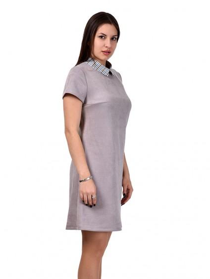 Платье мод. 1678 цвет Серый