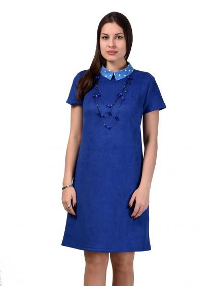 Платье мод. 1678 цвет Василек
