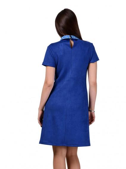 Платье мод. 1678 цвет Васильковый