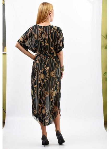 Платье мод. 1688-1 цвет Изумрудный
