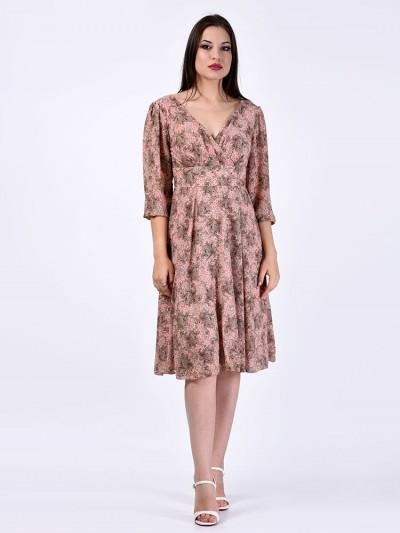 Платье мод. 1715-2 цвет Розовый